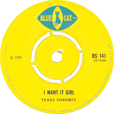 Teddy Charmes I Want It Girl She Is Gone